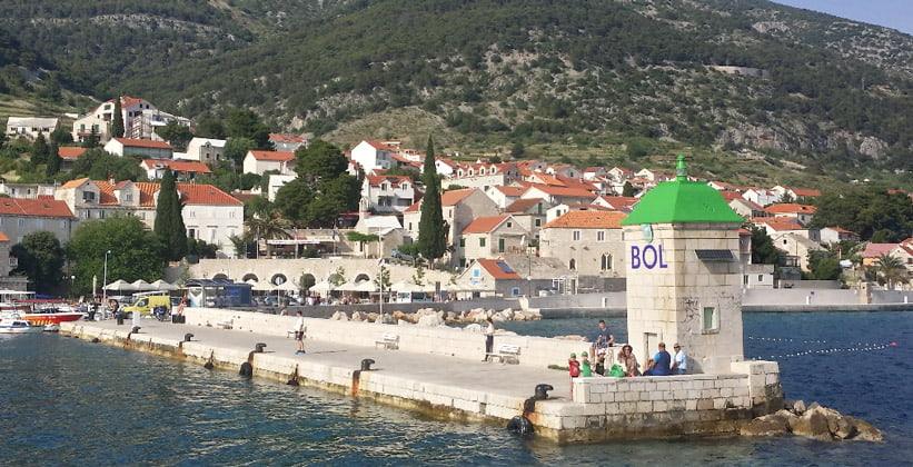 Город Бол в Хорватии