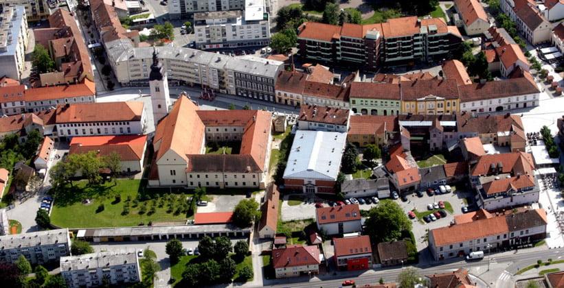Город Чаковец в Хорватии