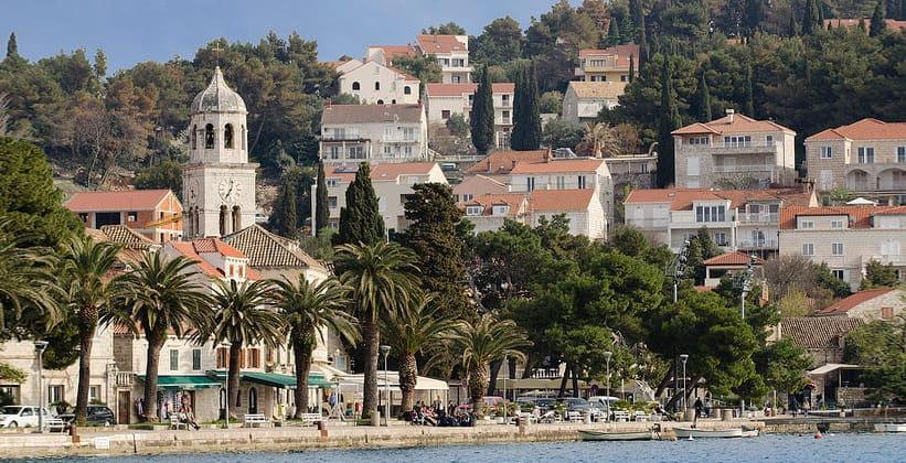 Город Цавтат в Хорватии