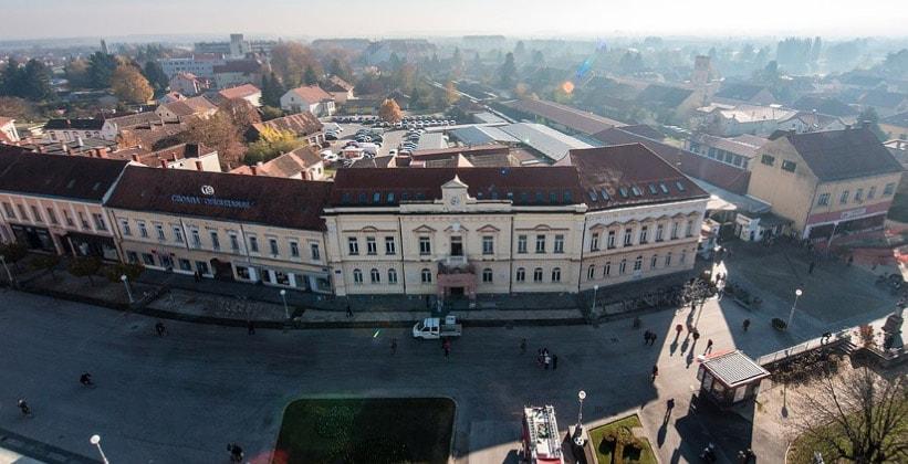 Город Копривница в Хорватии