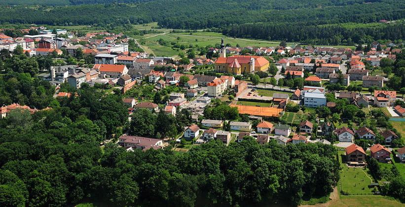 Городок Нашице в Хорватии