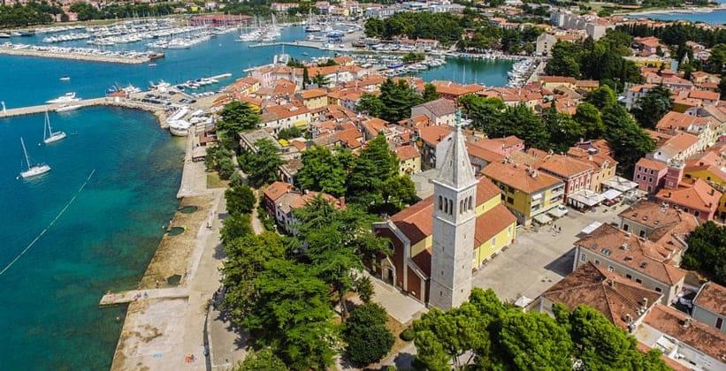 Город Новиград в Хорватии