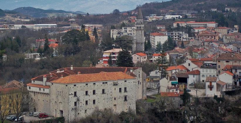 Городок Пазин в Хорватии