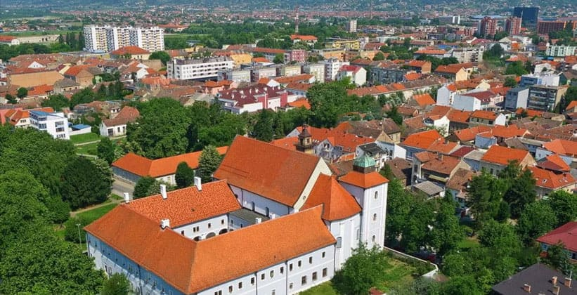 Город Славонски-Брод в Хорватии