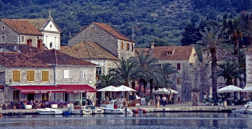 Город Стари-Град в Хорватии