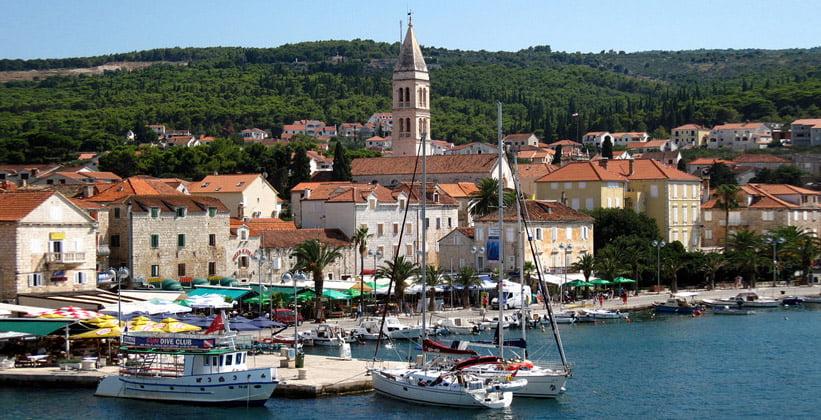 Город Супетар в Хорватии