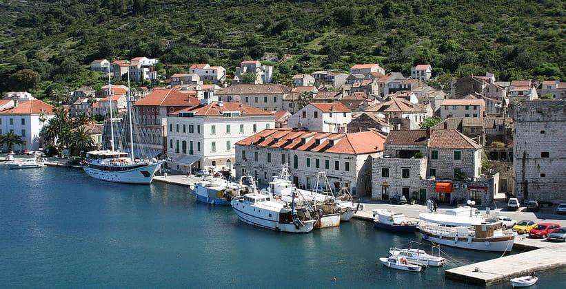 Город Вис в Хорватии