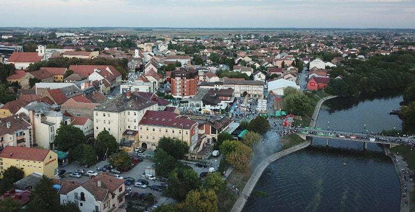 Город Винковцы в Хорватии