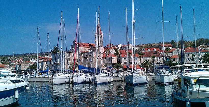 Городок Милна в Хорватии