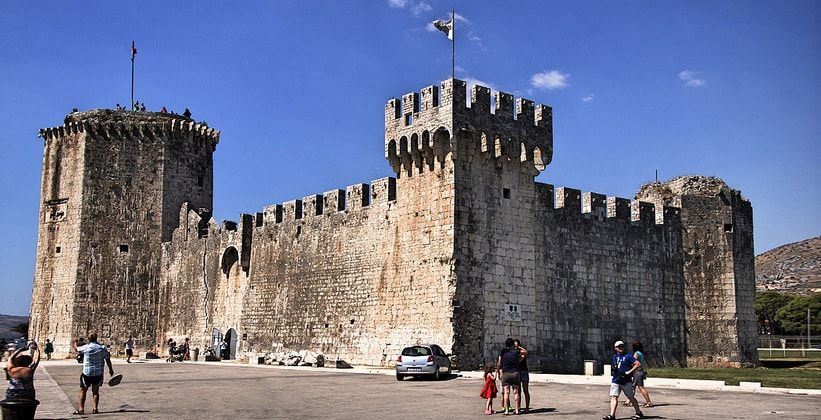 Крепость Камерленго в Трогире (Хорватия)