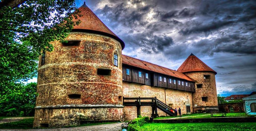 Крепость города Сисак (Хорватия)