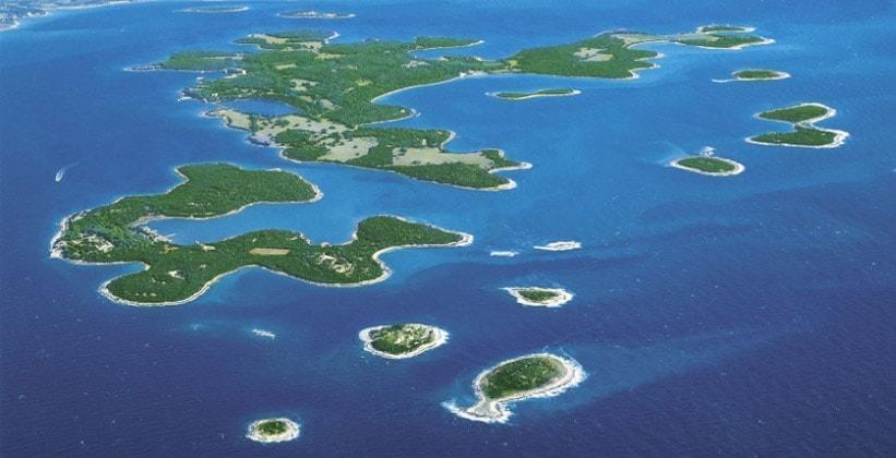 Острова Бриони в Хорватии