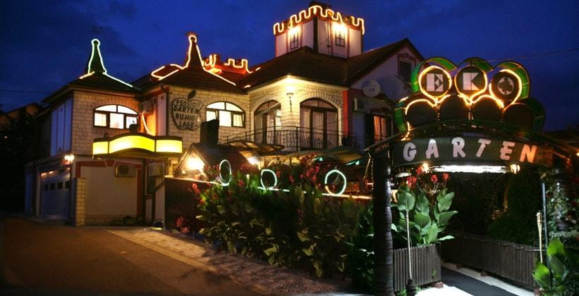 Отель Garten в городе Славонски-Брод