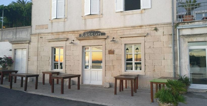 Ресторан Kantun в городе Вис (Хорватия)