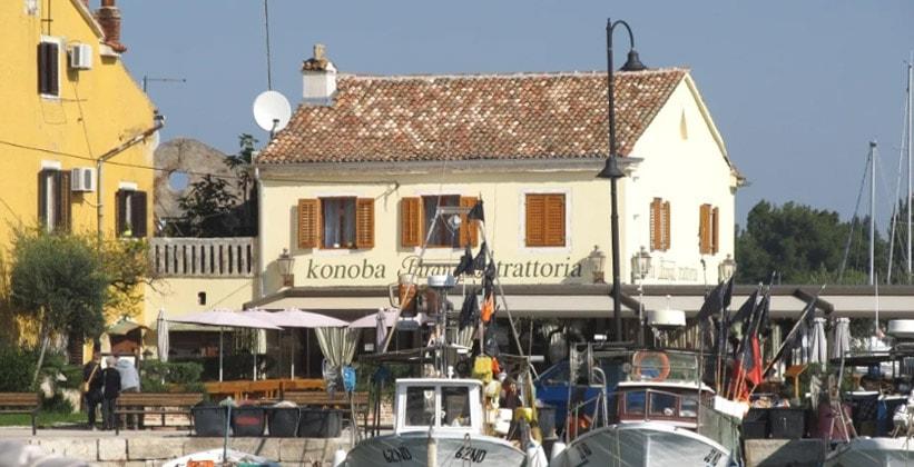 Ресторан Konoba Parangal Trattoria в Новиграде (Хорватия)