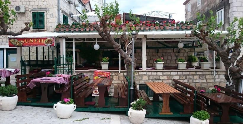Ресторан Susvid в городе Макарска