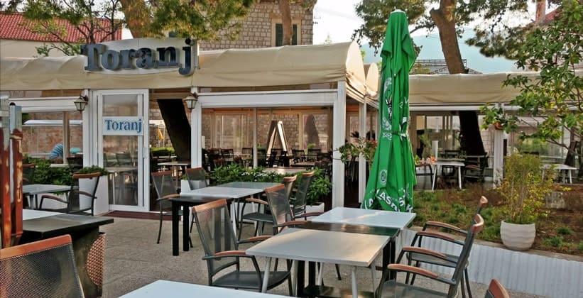 Ресторан Toranj в Цавтате