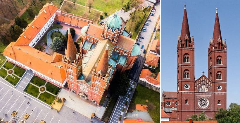Кафедральный собор Святого Петра в Джяково (Хорватия)