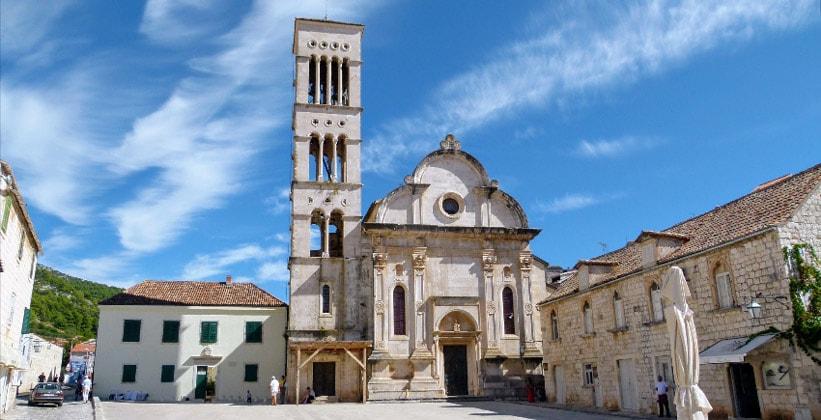 Собор Святого Стефана в городе Хвар (Хорватия)