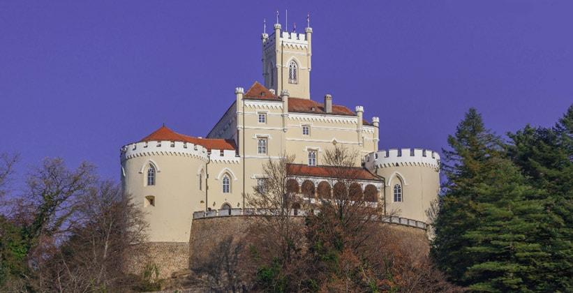 Замок Тракошчан в Хорватии