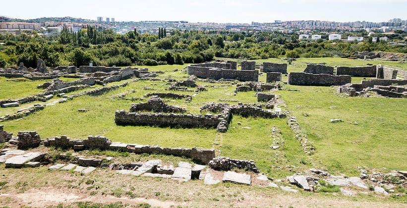Руины античной Салоны (Хорватия)