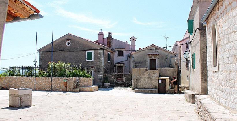 Архитектура домов деревни Бели (Хорватия)