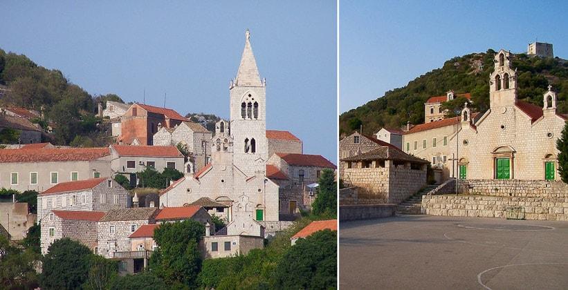 Церковь Святых Косьмы и Домиана в городе Ластово (Хорватия)