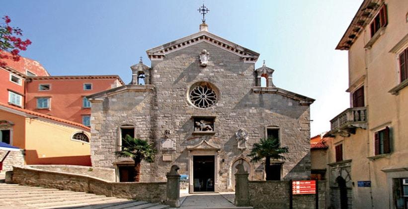 Церковь Рождества Девы Марии в Лабине (Хорватия)