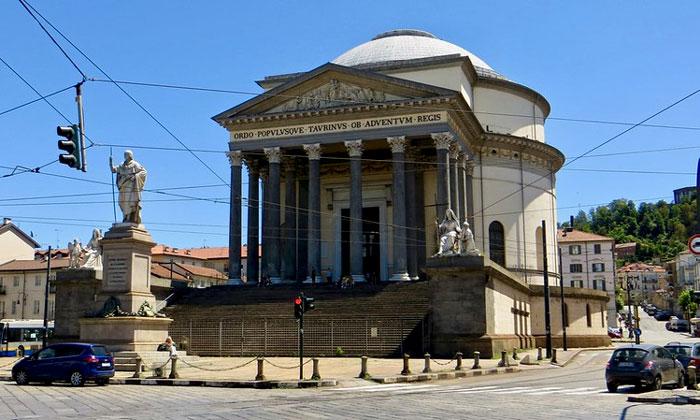Церковь Гран Мадре ди Дио в Турине