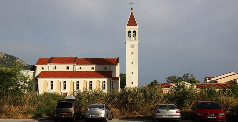Церковь Святого Петра в Омише (Хорватия)