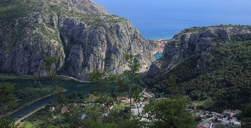 Цетинское ущелье в Хорватии