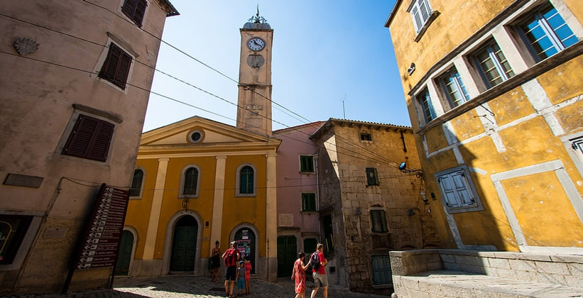 Часовая башня Лабина (Хорватия)