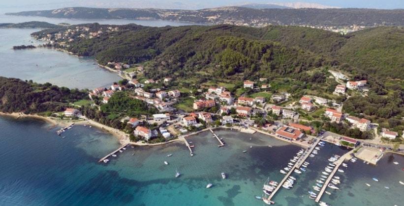 Деревня Кампор в Хорватии