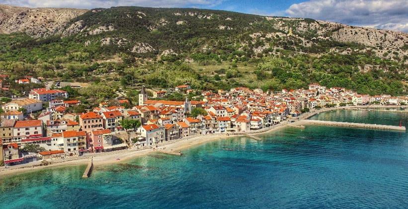 Деревня (курорт) Башка в Хорватии