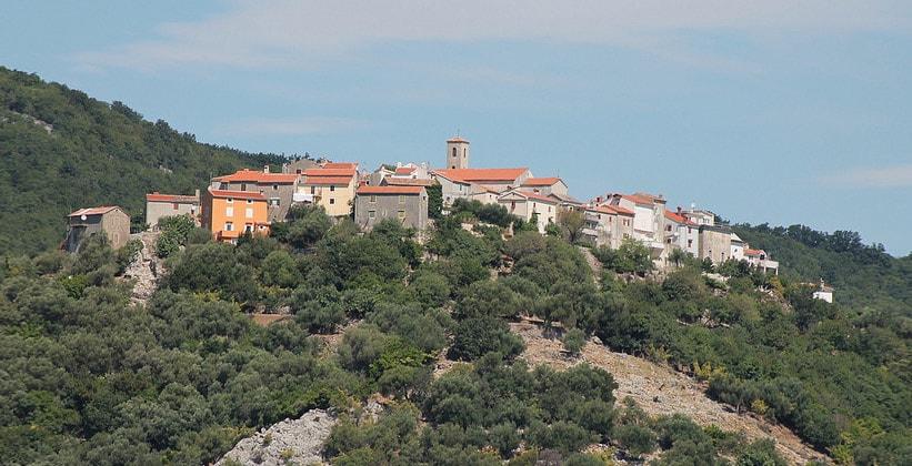 Деревня Бели в Хорватии