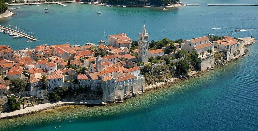 Деревня Ябланац в Хорватии
