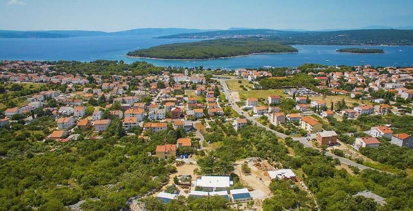 Деревня (курорт) Пунат в Хорватии
