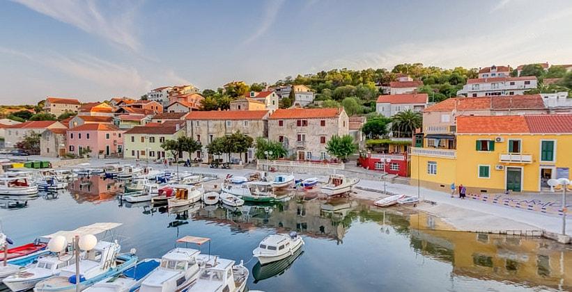 Деревня-курорт Сали в Хорватии