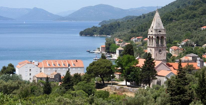Деревня Шипанска-Лука в Хорватии