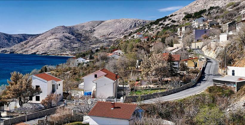 Деревня Стара-Башка в Хорватии