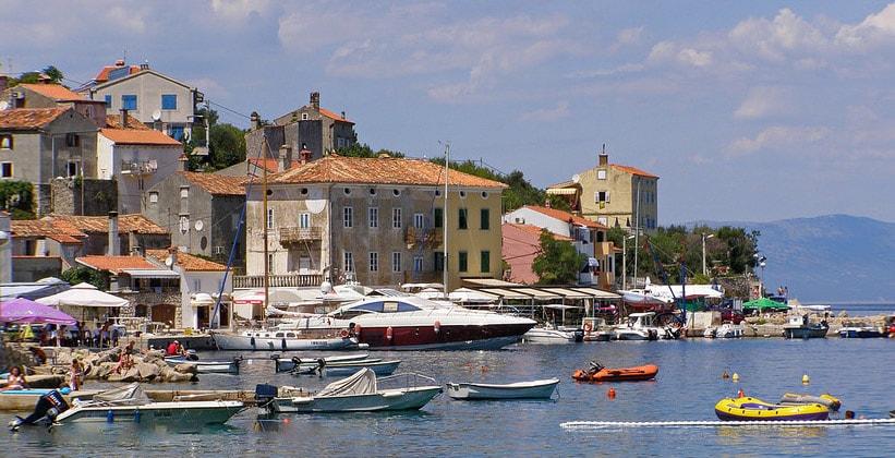 Деревня Валун в Хорватии