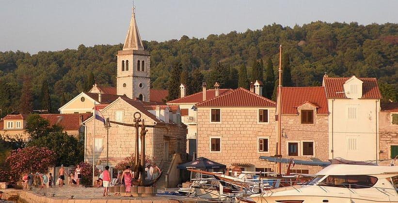 Одноимённая деревня Зларин в Хорватии