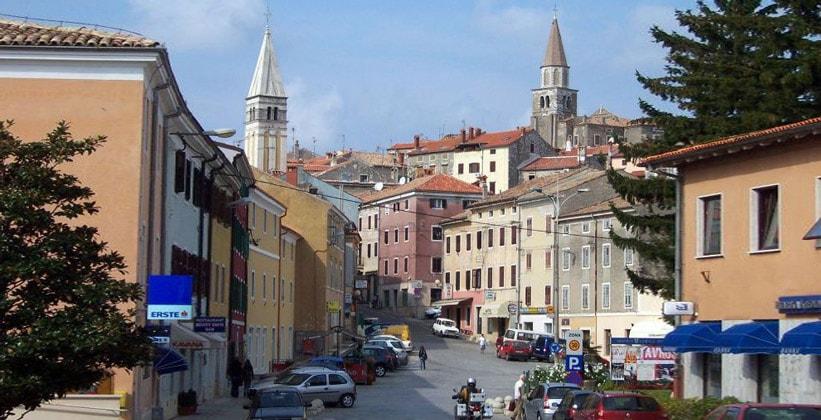Город Буйе в Хорватии