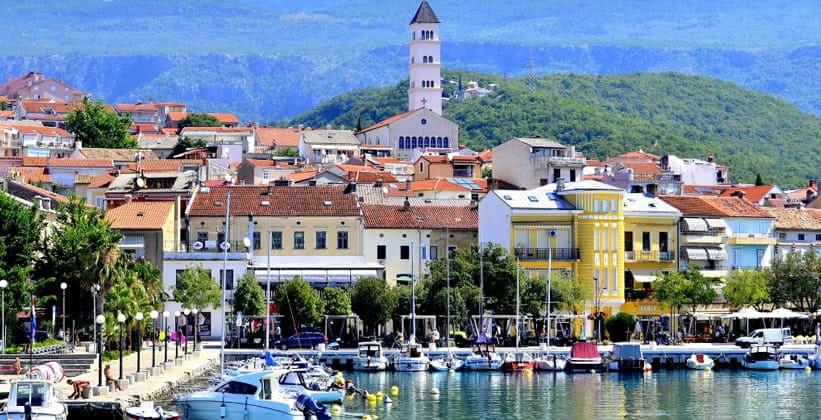Город Цриквеница в Хорватии