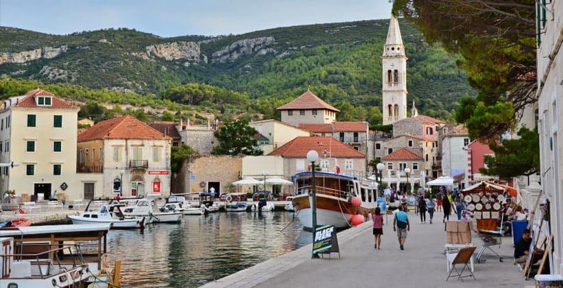 Город Йелса в Хорватии