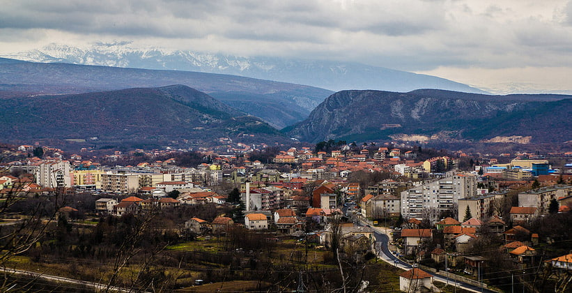 Город Книн в Хорватии