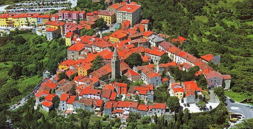 Город Лабин в Хорватии