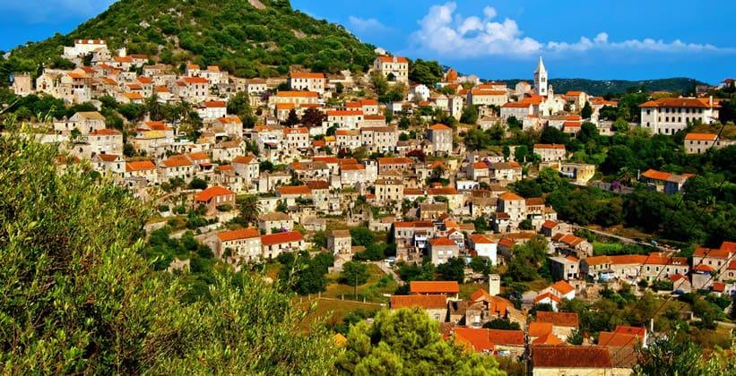 Город Ластово в Хорватии