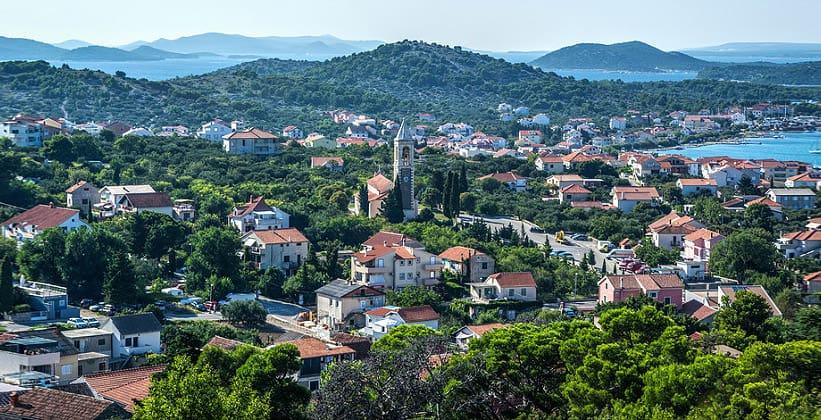 Одноимённый город Муртер в Хорватии