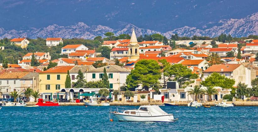 Город Новаля в Хорватии